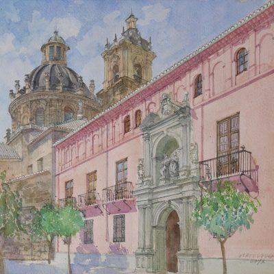 Colegio Mayor San Bartolomé y Santiago | 46x40 | 800€