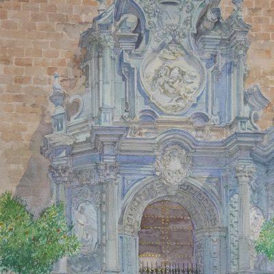 Portada de San Justo y Pastor en Granada | 56x35 | 900€