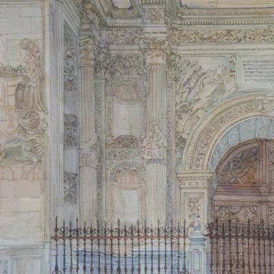 Edificio Colón en la Gran Vía de Granada | 56x35 | 1200 €