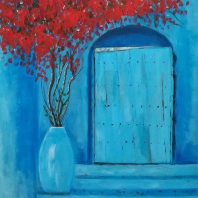 Xaouen. Ahmed Saoud. 200 euros. 60x50 cm