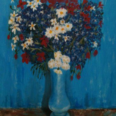 Flores. Ahmed Saoud. 700 euros. 80x100 cm