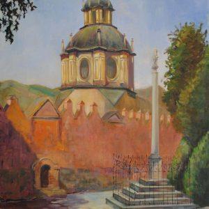 12. La Abadía del Sacromonte. Maribel Porcel. Óleo. 80x58,5 cm. 450 euros