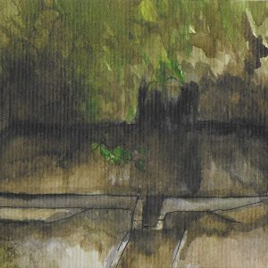 17. Fuente de la Alhambra. Amalia. Tinta. 8x16 cm. 60 euros