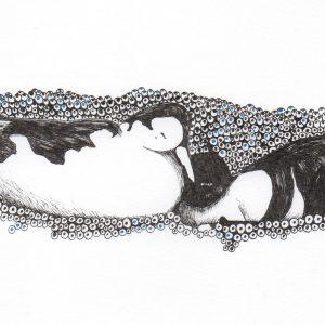 2. Gemelas. Amalia. 12x20 cm. 75 euros