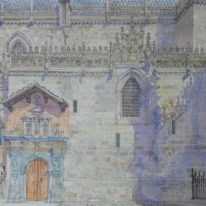 Capilla Real de Granada. Nobuo Ueda. 70x50 cm. 1500 euros