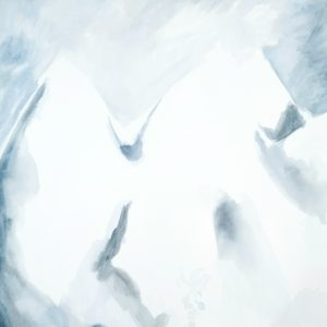 Montaña blanca. Amalia. 39x29 cm. 100 euros