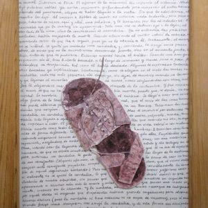 La sandalia. Francisco Linares Alés. 61x46 cm. 300 euros