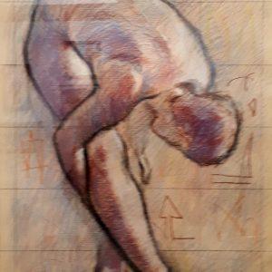 5. Desnudo. Pepe Molero. 50x70 cm. 300 euros