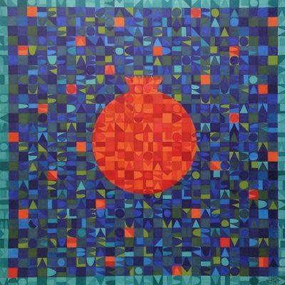 La sangre que llevamos. Julia Sánchez-Cantalejo Castañeda. Tinta. 48x48 cm. 800 e